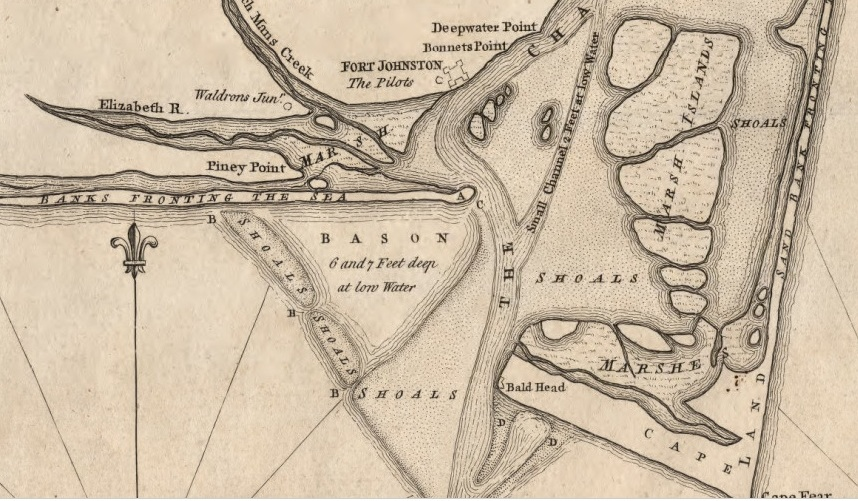 Old Fort Nc Map.Southport History