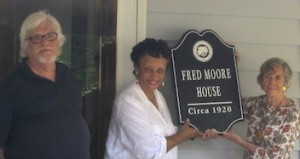 Fred Moore House Plaque